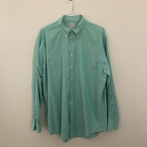 Brooks Brothers Red-Label Mint Green Button Down
